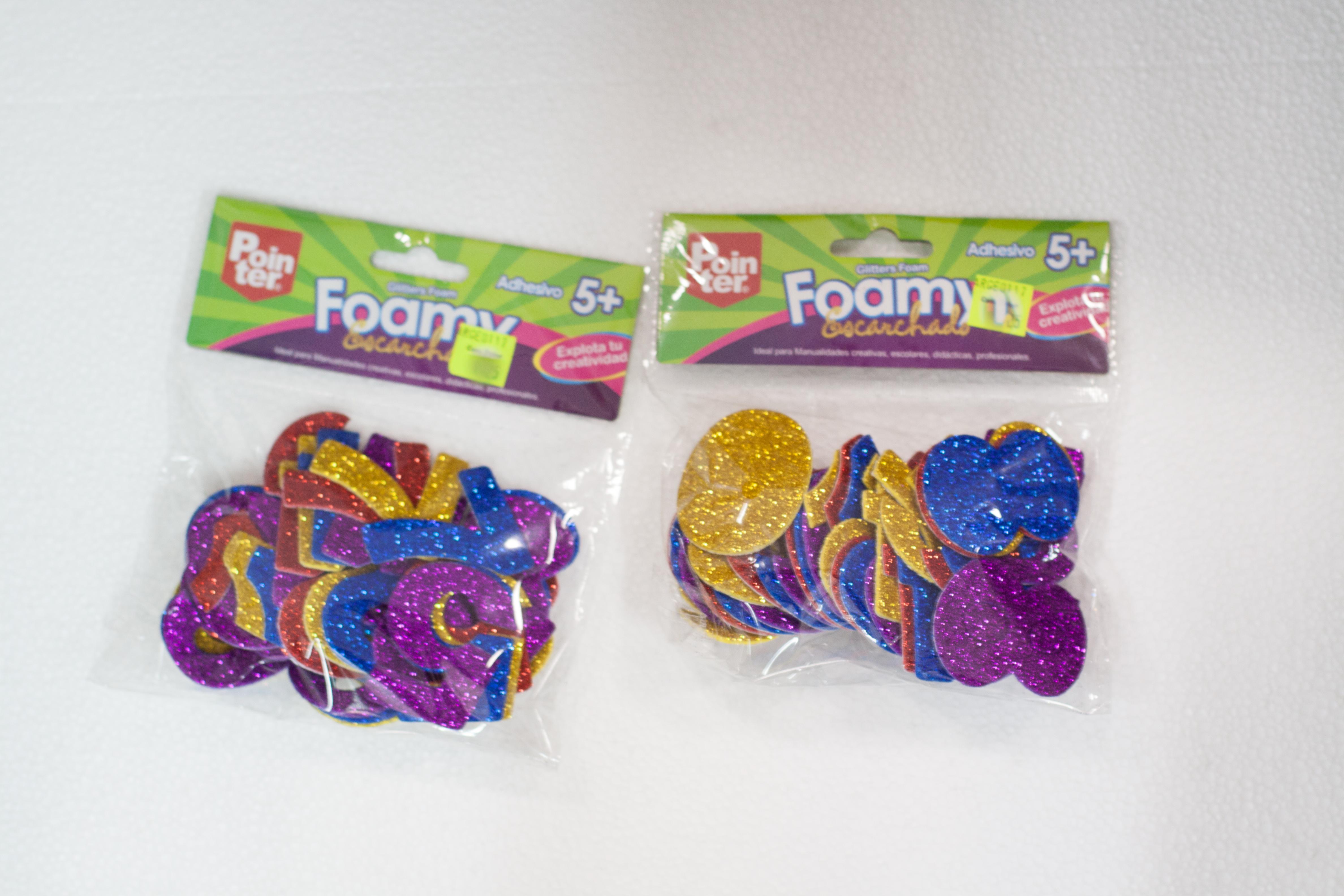 625f3f0a615 Juegos Interactivos   Figuras de Foamy escarchado Pointer